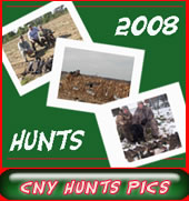 Enjoy another great year at CNY Hunts