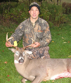 The best deer hunting in Upstate New York!!!